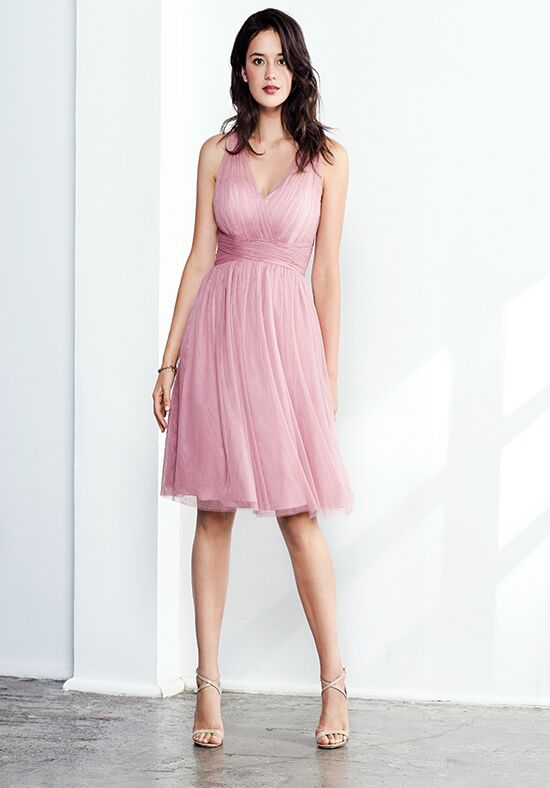 Colour by Kenneth Winston 5266S V-Neck Bridesmaid Dress
