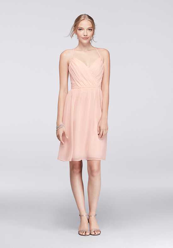 David's Bridal Collection David's Bridal Style W11072 V-Neck Bridesmaid Dress