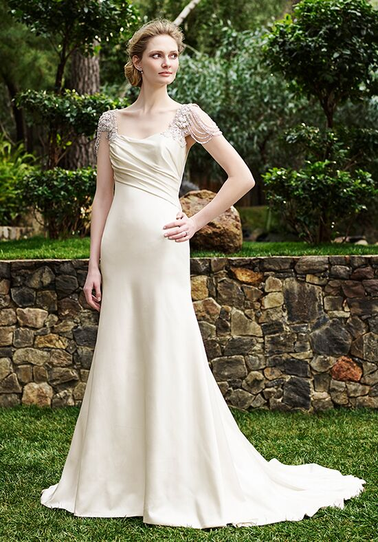 Casablanca Bridal 2253 Olive Sheath Wedding Dress