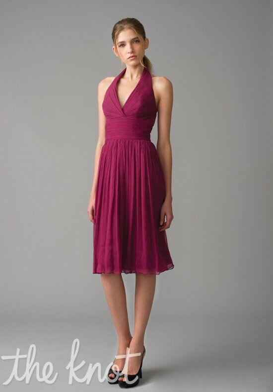 Monique Lhuillier Bridesmaids 450016 Halter Bridesmaid Dress