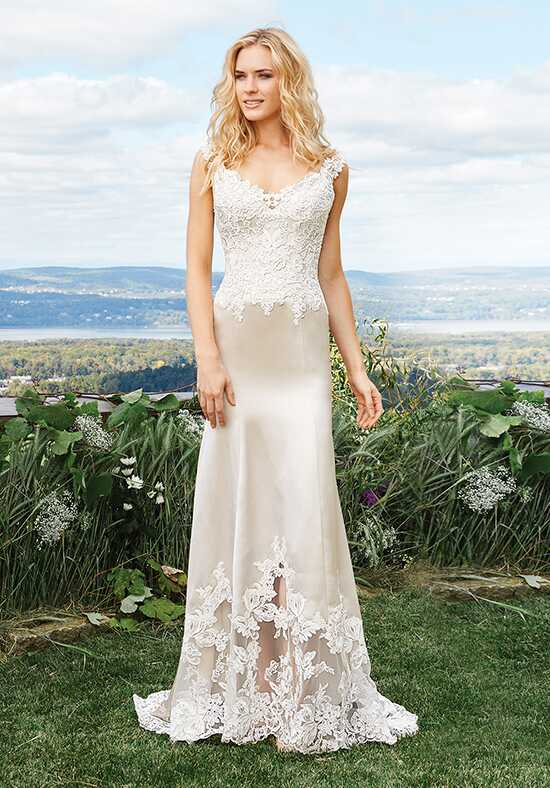Lillian West 6427 Mermaid Wedding Dress