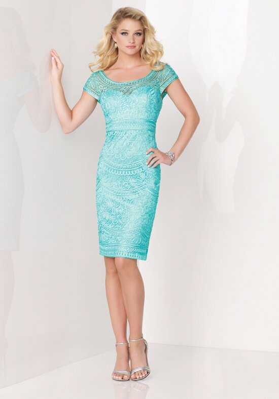 Social Occasions by Mon Cheri 115869 Green Mother Of The Bride Dress