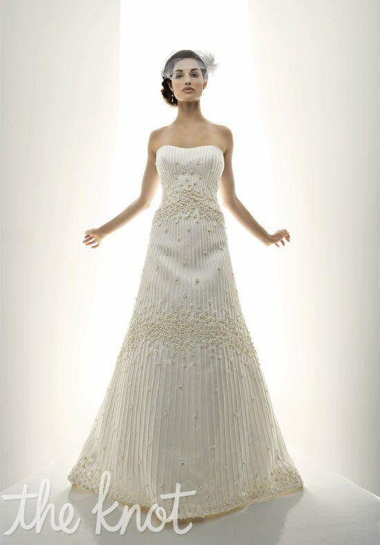 Matthew Christopher 2808   Imagine A Line Wedding Dress