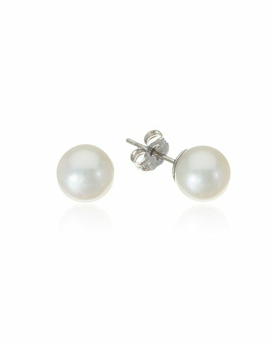 Thomas Laine Freshwater Pearl Studs Wedding Earring photo