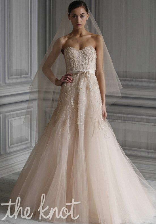 Monique Lhuillier Candy A-Line Wedding Dress