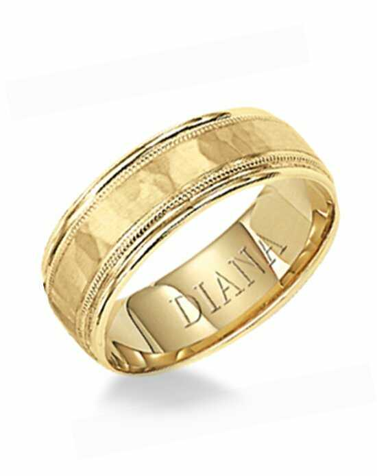 Diana 11-N7024-G Gold Wedding Ring
