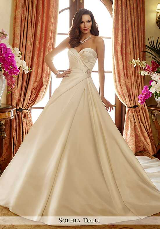 Sophia Tolli Y11721 Desiree A-Line Wedding Dress