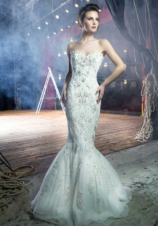 Stephen Yearick KSY41 Mermaid Wedding Dress