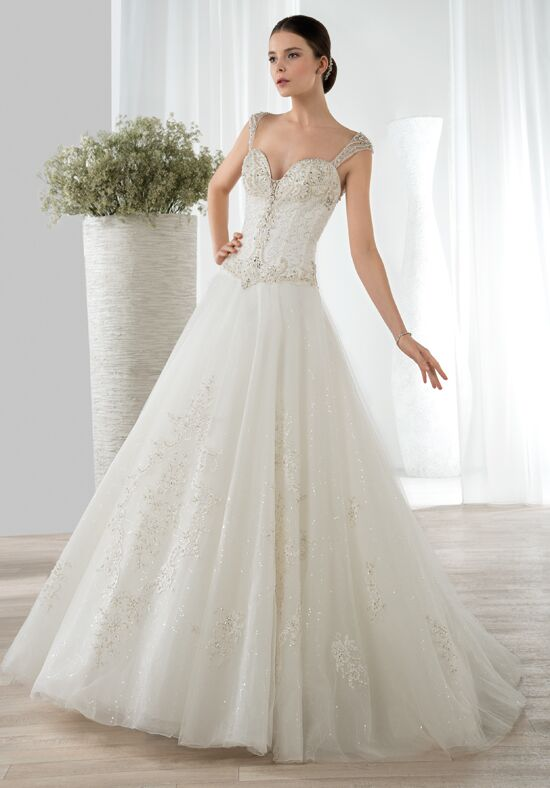 Demetrios 643 A-Line Wedding Dress