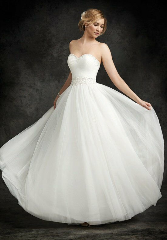 Ella Rosa BE242 Ball Gown Wedding Dress