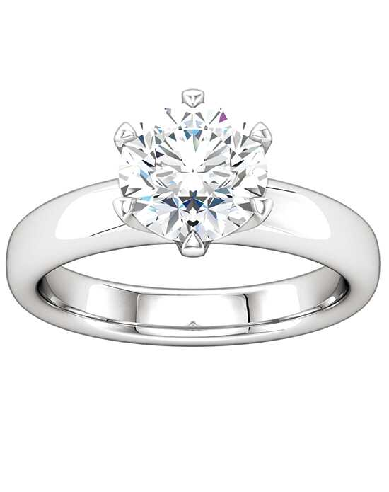 ever&ever Classic Round, Oval Cut Engagement Ring