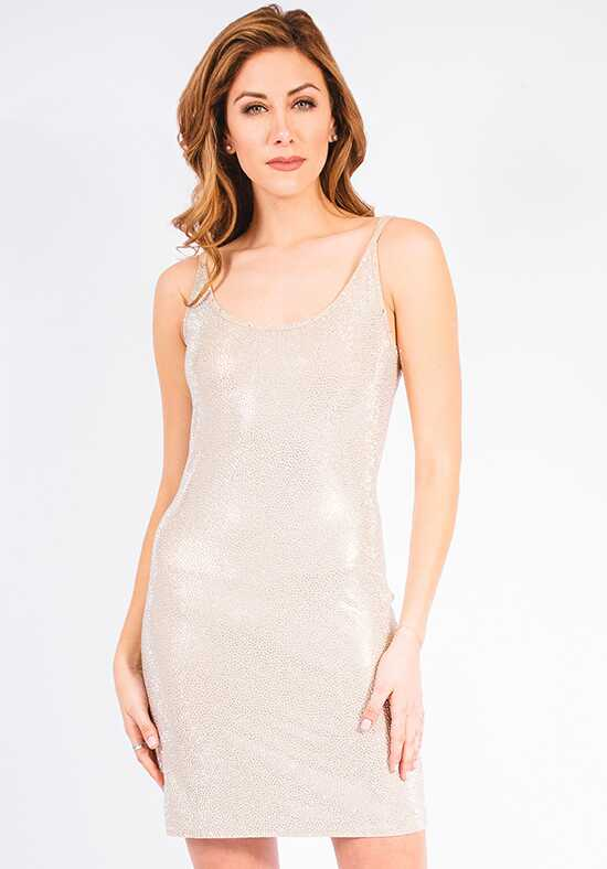 Grayse Wedding Party Pave Stingray Strappy Tank Dress - W1450405 Ivory Mother Of The Bride Dress