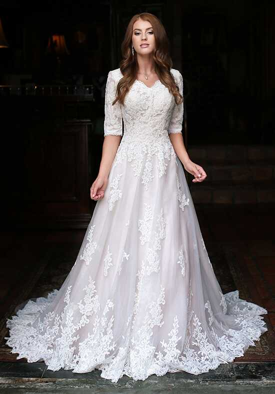 Modest by Mon Cheri TR11835 A-Line Wedding Dress