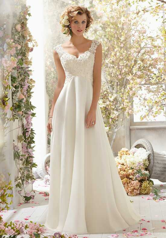 Morilee by Madeline Gardner/Voyage 6778 A-Line Wedding Dress