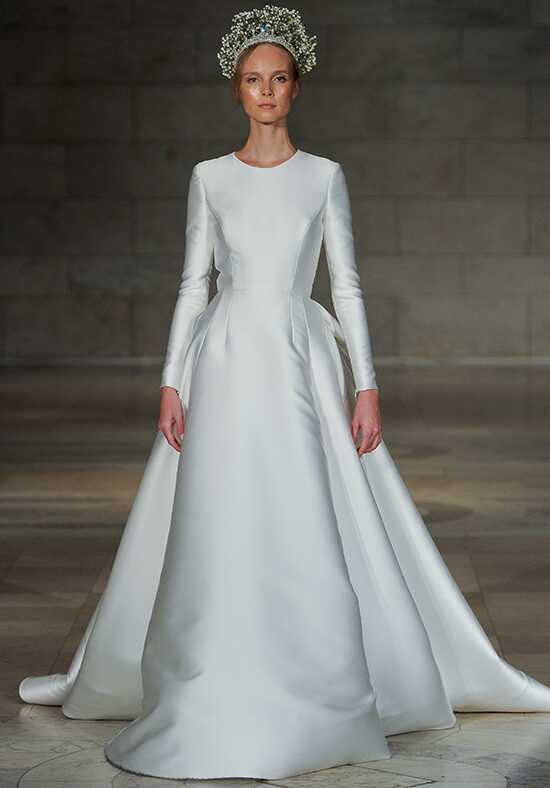 Reem Acra Captivating Ball Gown Wedding Dress