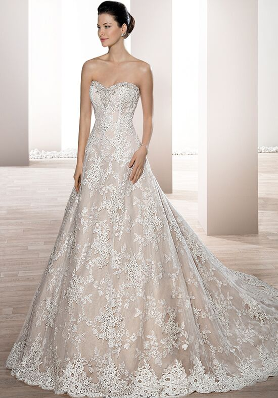 Demetrios 674 A-Line Wedding Dress