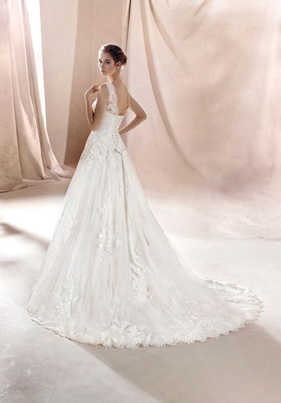 White One Sara Wedding Dress The Knot