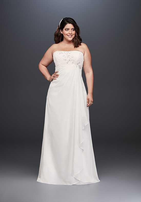 David's Bridal David's Bridal Style 9WG3872 Sheath Wedding Dress