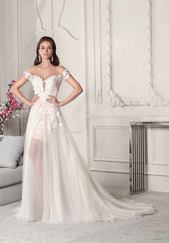 Demetrios 851 A-Line Wedding Dress