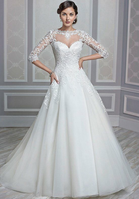 Kenneth Winston 1604 A-Line Wedding Dress