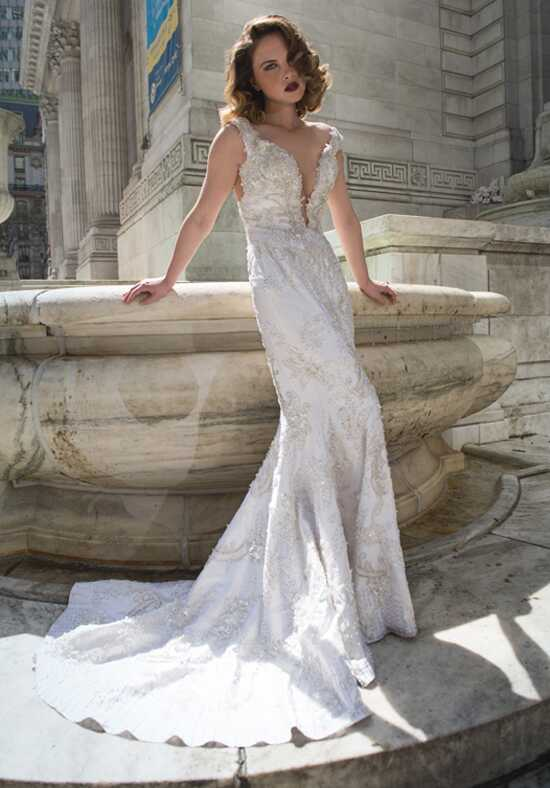 Stephen Yearick KSY167 Sheath Wedding Dress