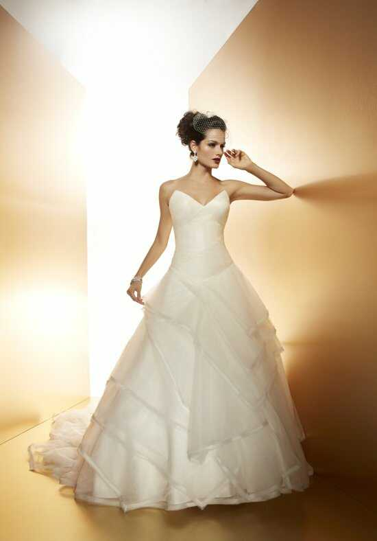Matthew Christopher Mikado Wedding Dress