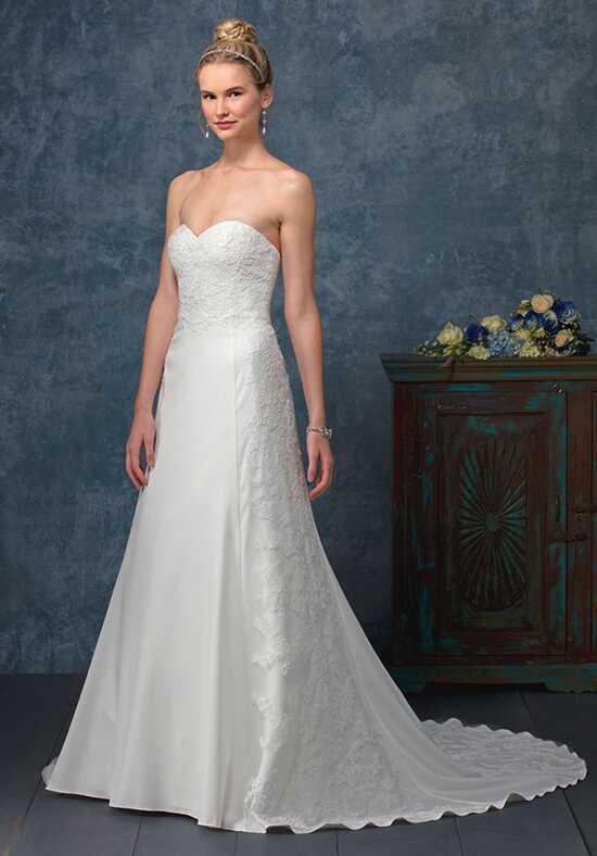 Illusion neckline wedding dresses beloved by casablanca bridal junglespirit Images