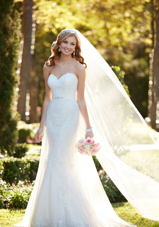 Stella York 6341 A-Line Wedding Dress
