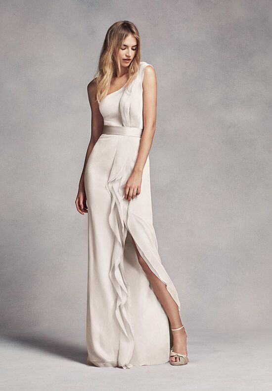White by vera wang collection white by vera wang style for Average price of vera wang wedding dress
