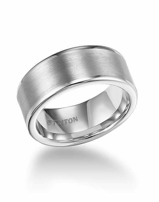 Triton 11-2118HC-G Tungsten Wedding Ring