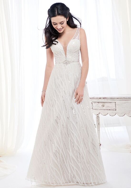 Kenneth Winston: Ella Rosa Collection BE394 A-Line Wedding Dress