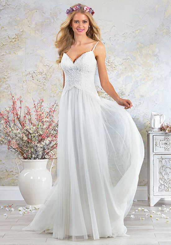 Alfred Angelo Modern Vintage Bridal Collection 5001 Wedding Dress ...