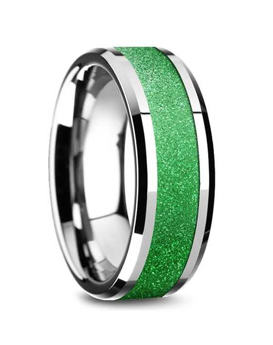 Mens Tungsten Wedding Bands W5874-TSGI Tungsten Wedding Ring