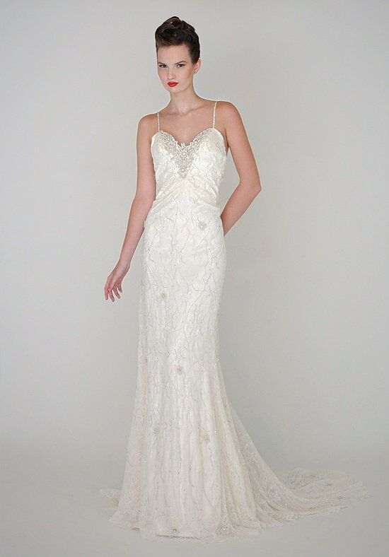 "Eugenia ""Isabella"" Style # 3932 Sheath Wedding Dress"