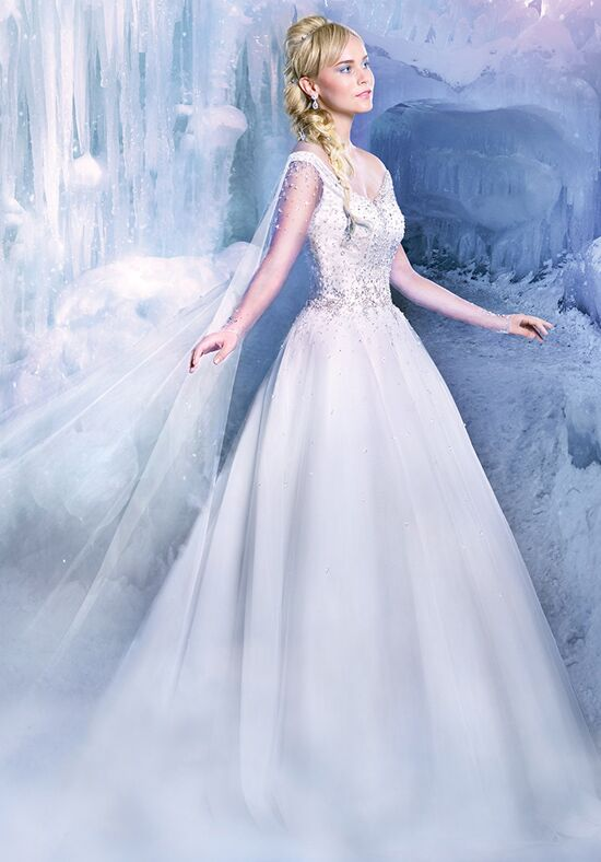 Alfred Angelo Disney Fairy Tale Weddings Bridal Collection 259 Ball Gown Wedding Dress