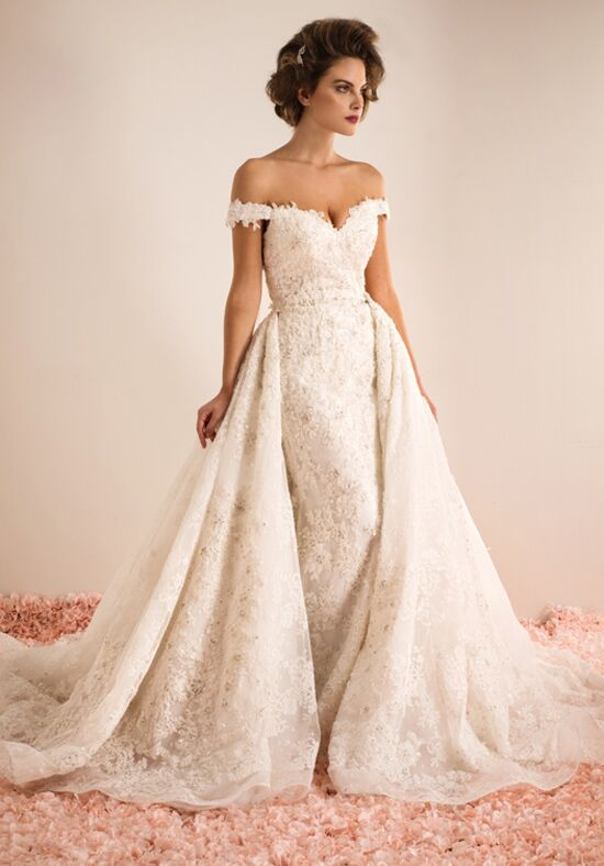 Ysa makino kym161 wedding dress the knot for Ysa makino wedding dress