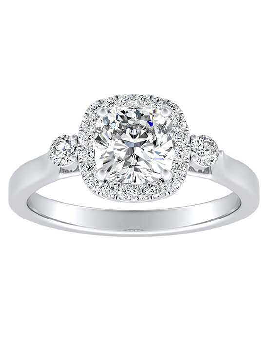 DiamondWish.com Elegant Princess, Asscher, Cushion, Emerald, Marquise, Pear, Round, Oval Cut Engagement Ring