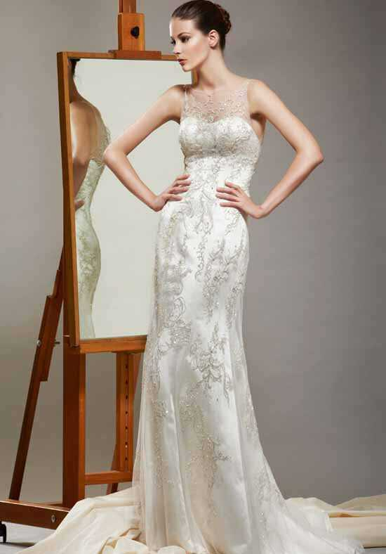 Saison Blanche Couture 4232 Sheath Wedding Dress