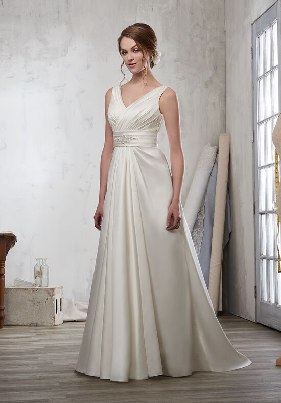1 Wedding by Mary's Bridal 3Y710 A-Line Wedding Dress
