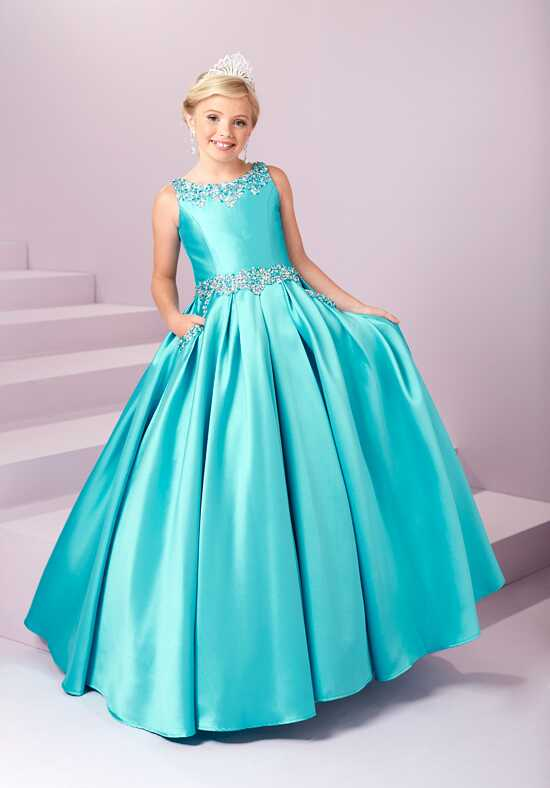 Tiffany Princess 13485 Flower Girl Dress