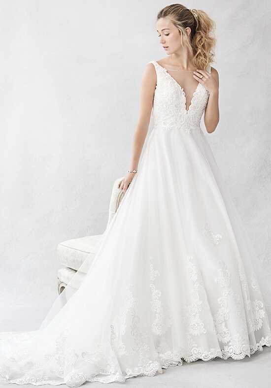Kenneth Winston: Ella Rosa Collection BE386 Ball Gown Wedding Dress