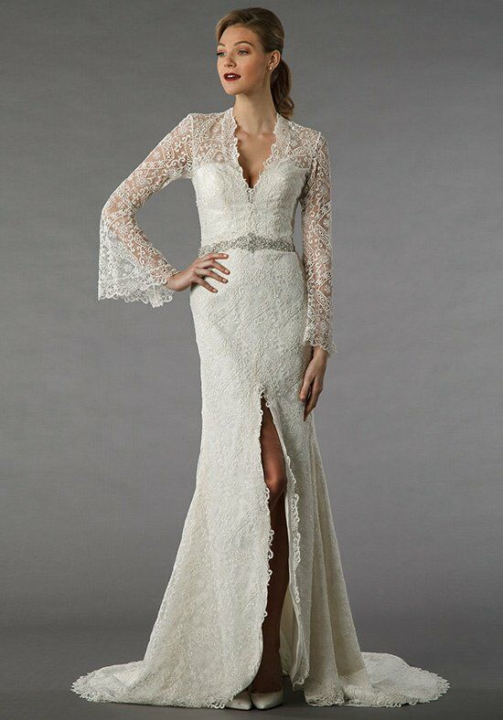 Alita Graham 12073 Sheath Wedding Dress