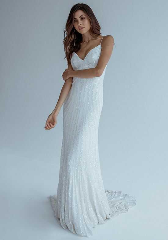 KAREN WILLIS HOLMES Ellery Mermaid Wedding Dress