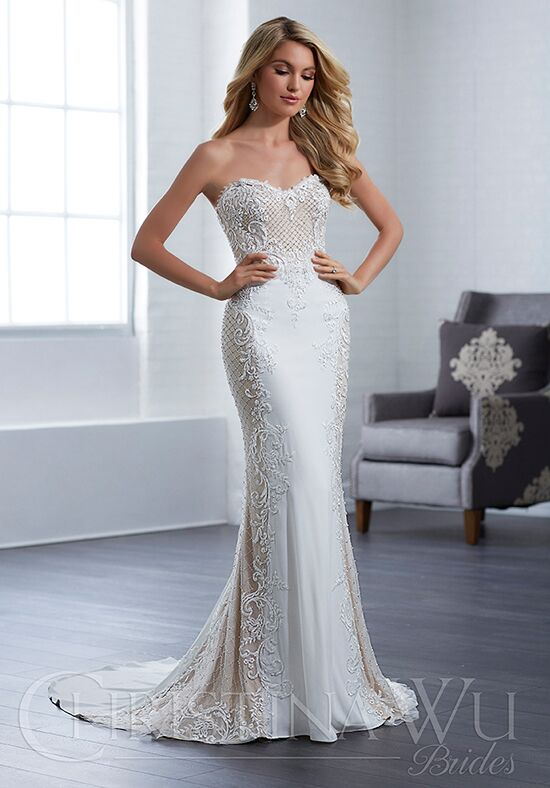 Christina Wu 15654 Sheath Wedding Dress