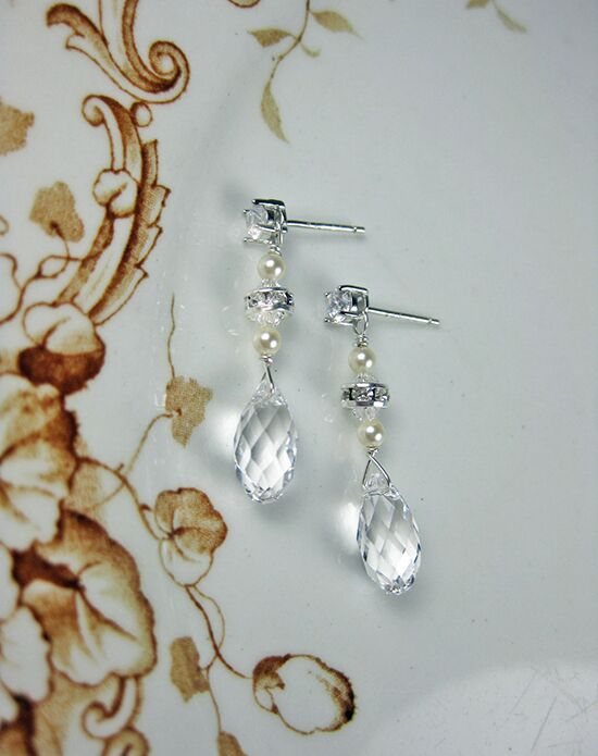 Everything Angelic Irina Earrings - e340 Wedding Earring photo