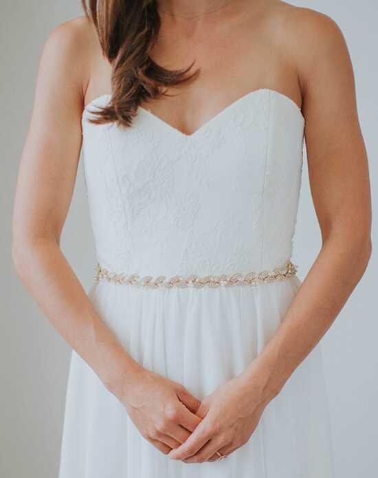 Wedding accessories davie chiyo sashes belts gilded ava sash gold ivory pink junglespirit Choice Image