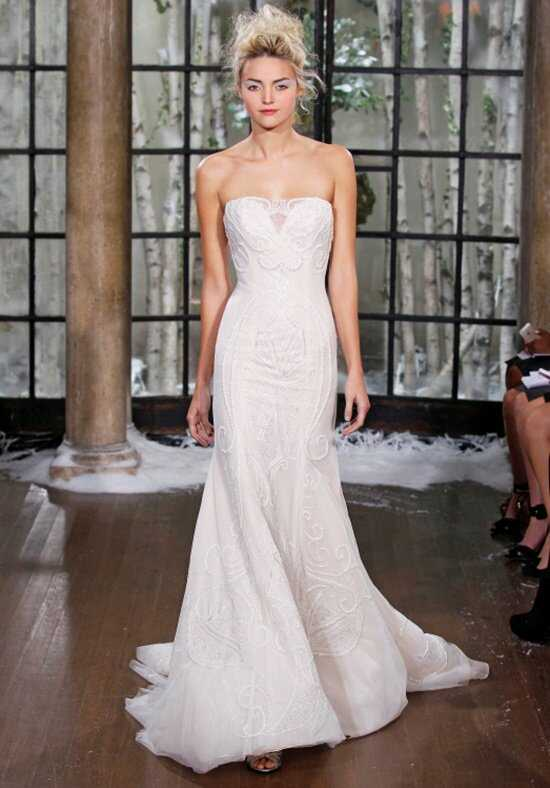 Ines Di Santo Zabize Mermaid Wedding Dress