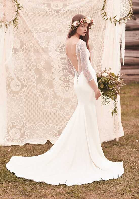 Mikaella 2058 Sheath Wedding Dress