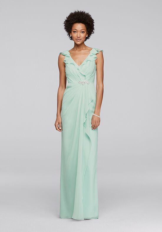 Wonder by Jenny Packham Bridesmaids Wonder by Jenny Packham Style JP291749 V-Neck Bridesmaid Dress