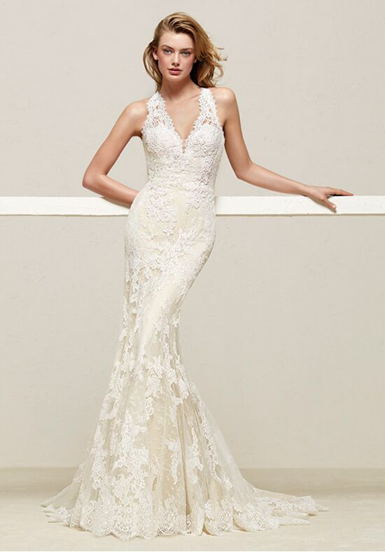 PRONOVIAS DRILOS Mermaid Wedding Dress